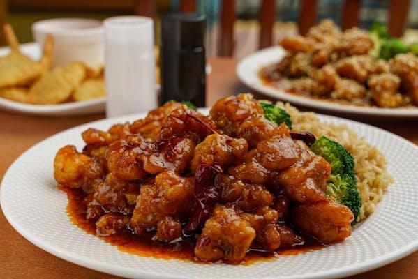 S1. General Tso's Chicken & White Rice