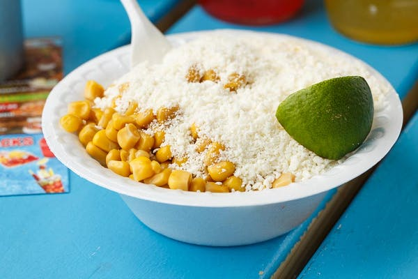 Elotes in a Cup