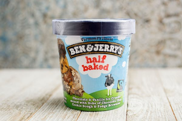 Ben & Jerry's Half-Baked Ice Cream