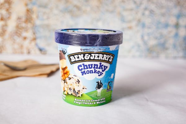 Ben & Jerry's Chunky Monkey Ice Cream