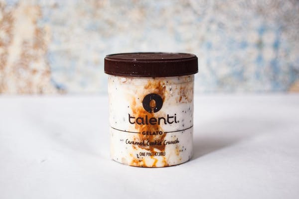 Caramel Cookie Crunch Gelato