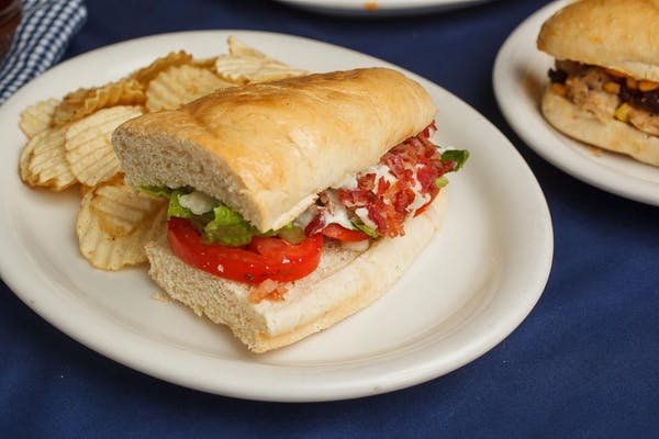 """6"""" BLT Sandwich and Chips"""