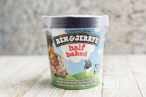 Half Baked Ben & Jerry's Ice Cream