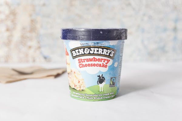 Strawberry Cheesecake Ben & Jerry's Ice Cream