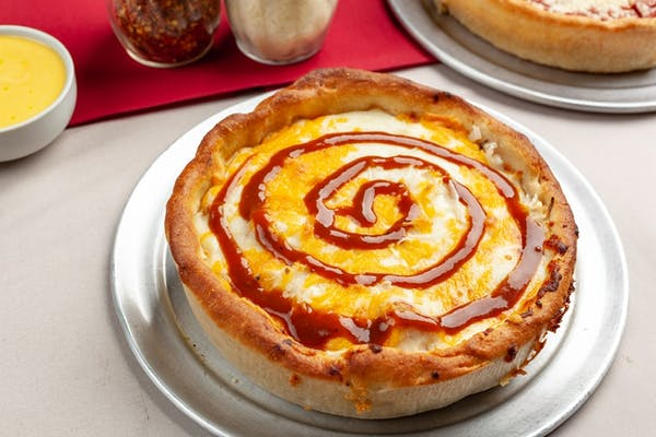 BBQ Chicken Deep-Dish Pizza