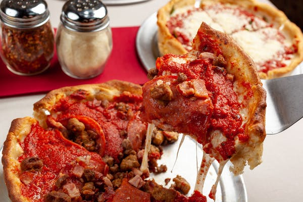 Al Capone Meat Deep-Dish Pizza
