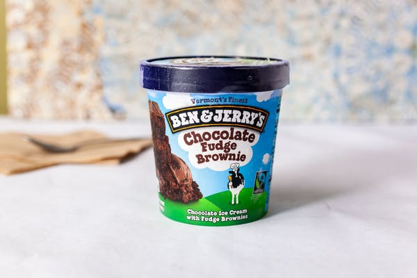 Chocolate Fudge Brownie Ben & Jerry's Ice Cream