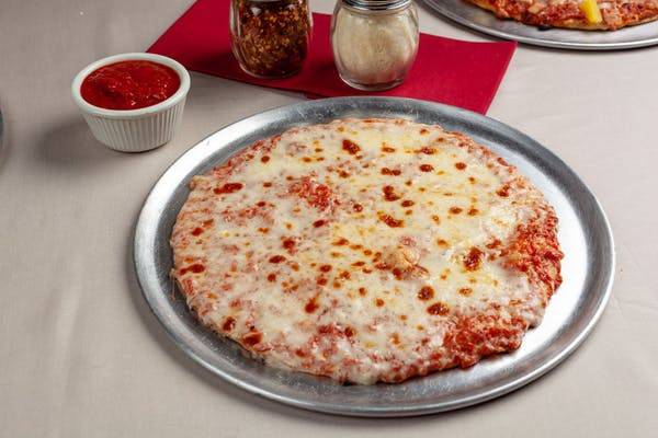 Build Your Own Cheese Thin Crust Pizza
