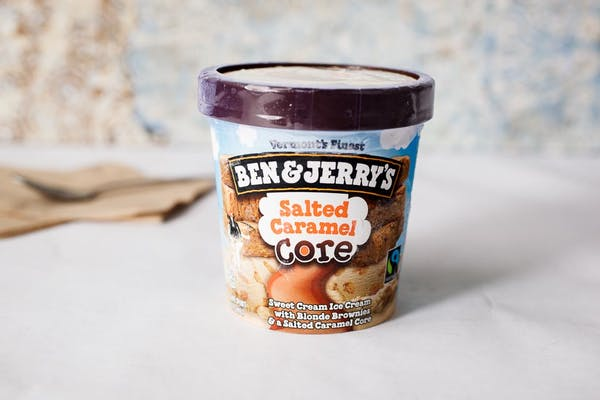 Salted Caramel Core Ben & Jerry's Ice Cream