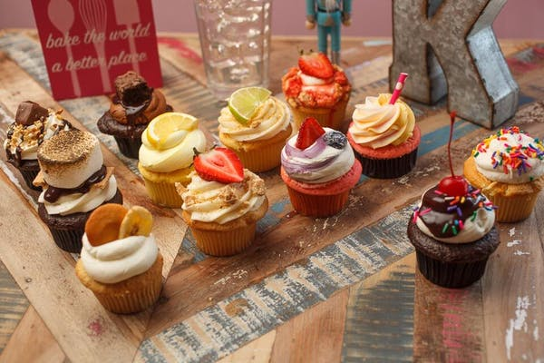 Assorted Mystery Cupcakes