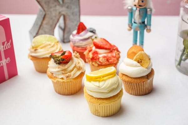 Assorted Fruity Cupcakes