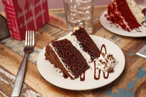 Mississippi Mud Cake Slice
