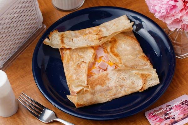 Ham & Cheese Savory Crepes