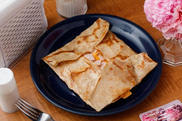 Turkey & Cheese Savory Crepes