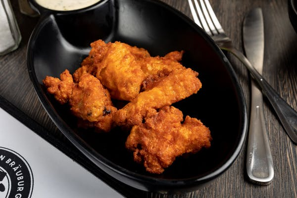 Breaded Bone-In Chicken Wings