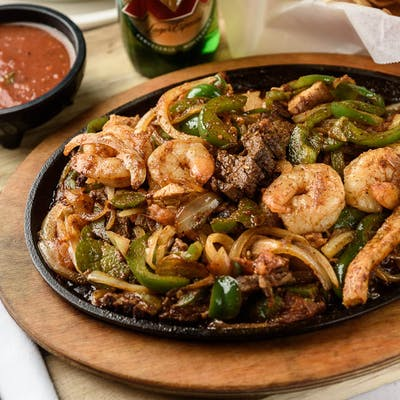Fish & Shrimp Fajitas