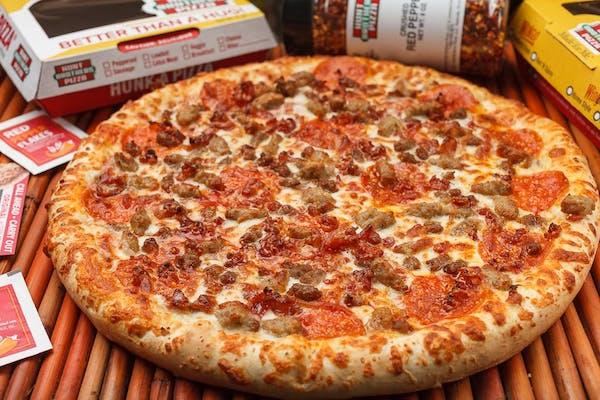 Lotsa Meat Pizza
