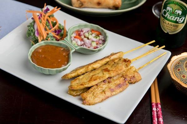 (4 pc.) Chicken Satay