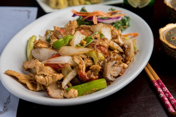 Pad Woon Sen Noodles