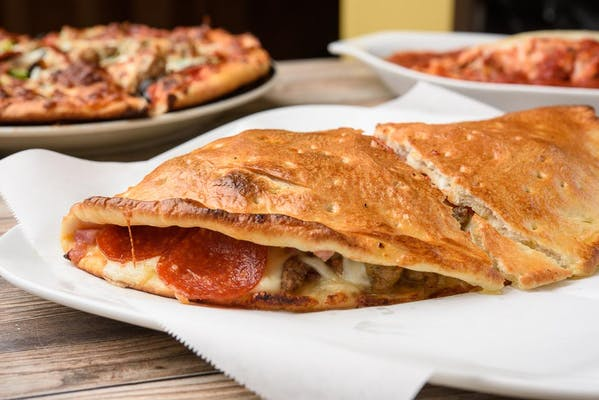 All-Meat Calzone