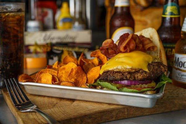(8 oz.) Anytime Burger