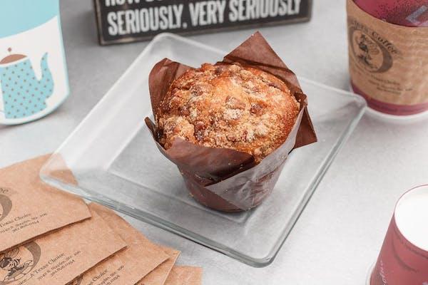 Apple Cinnamon Pecan Muffin