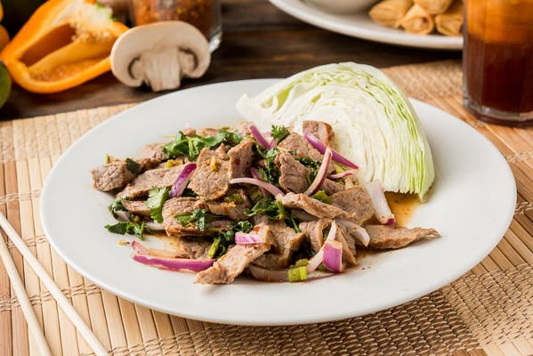 Yum Nam Tok Salad