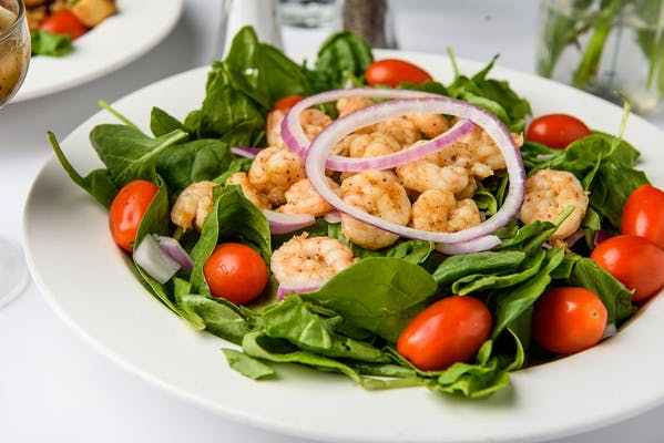 Cajun Grilled Shrimp Salad