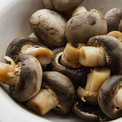 Boiled Mushrooms
