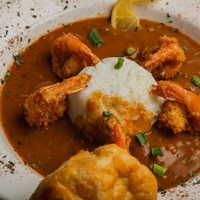 Shrimp & Grits Creole Style