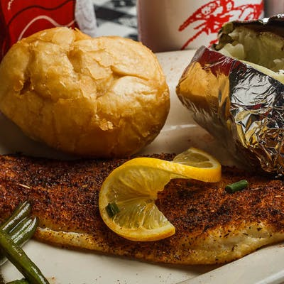 Charbroiled or Blackened Catfish