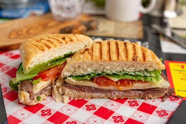Beef & Swiss Sandwich