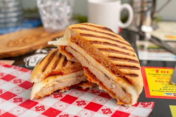 Naked Chicken Parm Sandwich