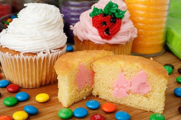 Gourmet Creme Filled Cupcakes