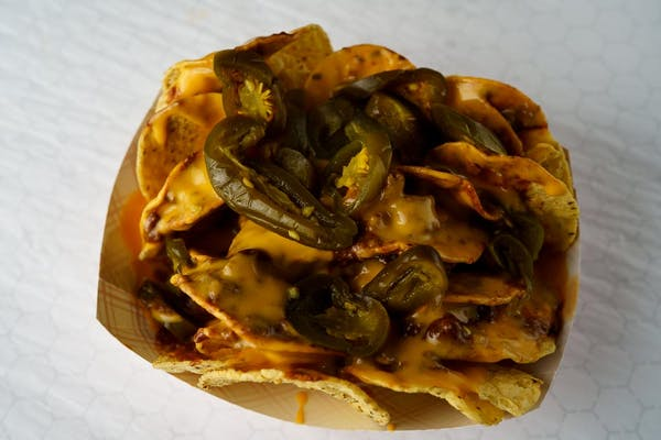 Nachos with Chili Cheese