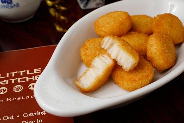 14. Fried Scallops