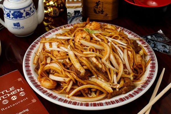35. Shrimp Lo Mein