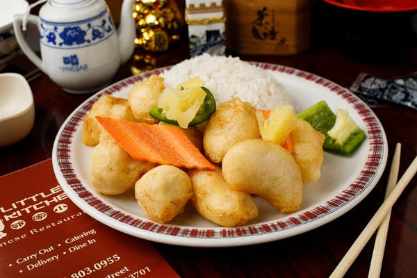 C1. Sweet & Sour Chicken with White Rice