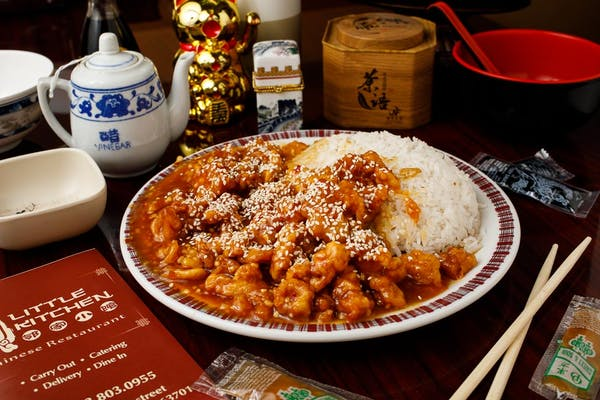 C3. Sesame Chicken & White Rice