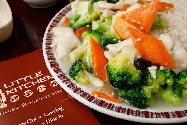 C7. Chicken with Broccoli & White Rice