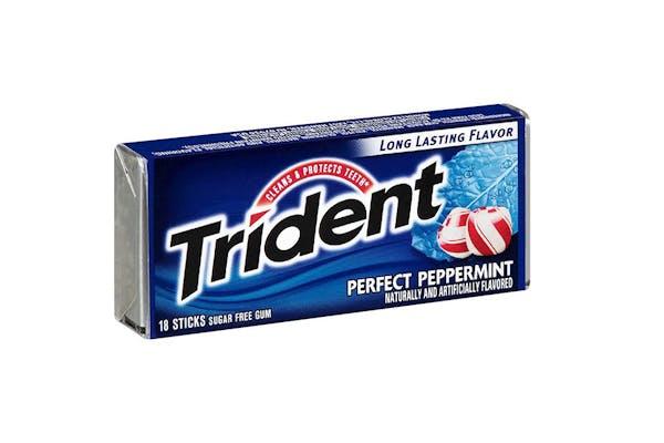 Peppermint Trident Gum