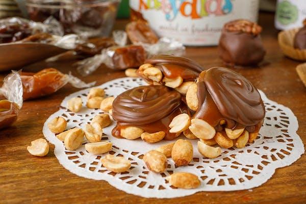 Peanut Caramel Clusters