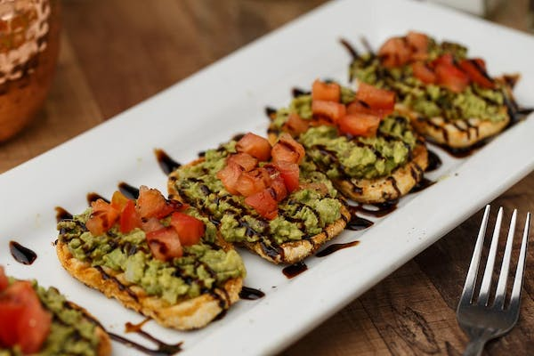 Avocado Toast with Heirloom Tomato