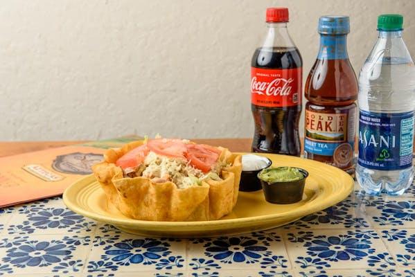 Taco Salad Coca-Cola Dinner Combo