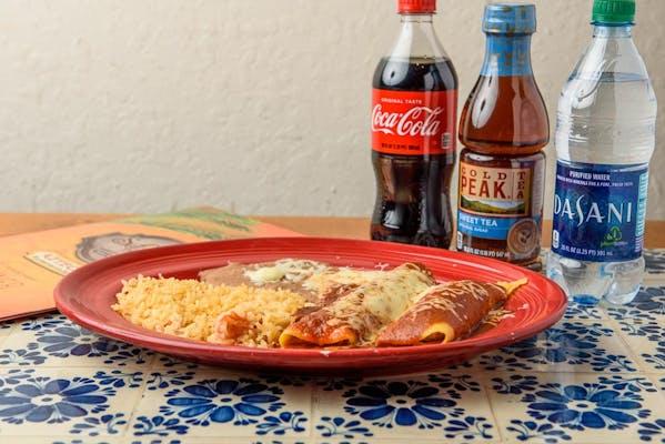 Enchilada Dinner Coca-Cola Combo