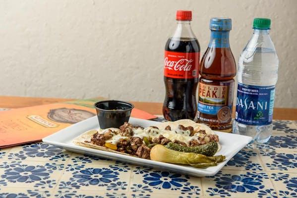 Steak Alambres Coca-Cola Dinner Combo