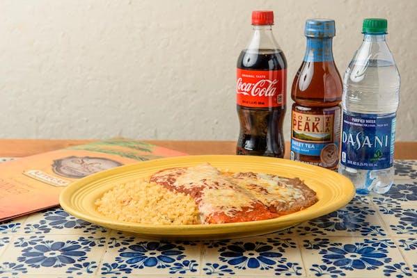 Burrito Special Coca-Cola Dinner Combo