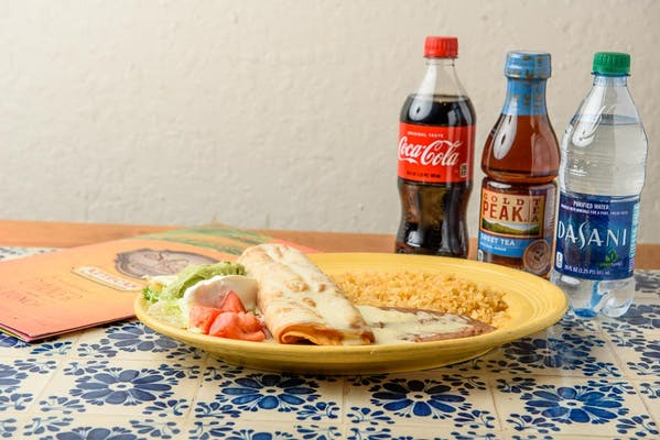 Chimichanga Dinner Coca-Cola Combo