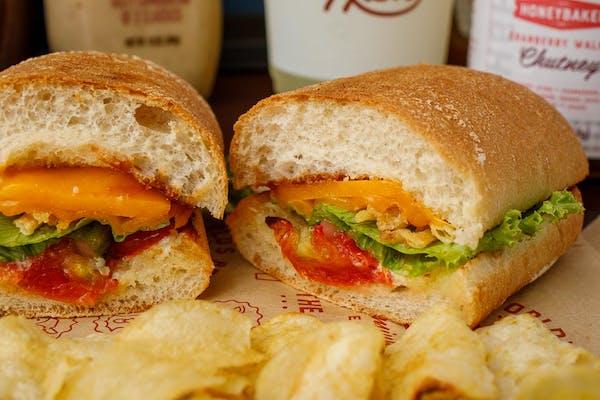 Roasted Tomato & Cheddar Sandwich
