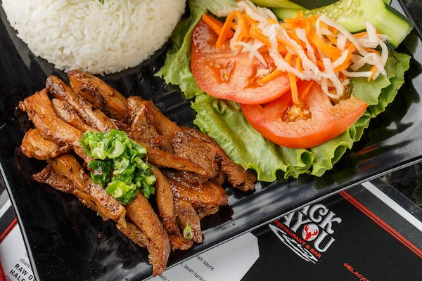 Char - Grilled Chicken with Rice